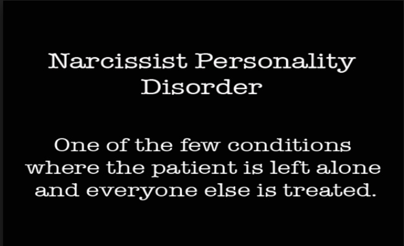 Characteristics of narcissistic personality disorder
